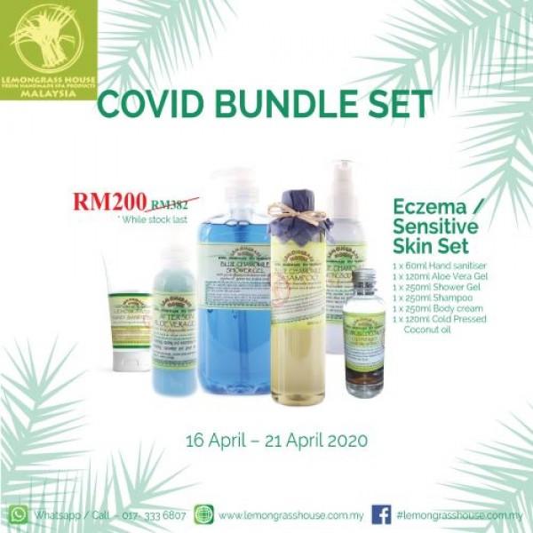 SET H - Eczema/Sensitive Skin Set